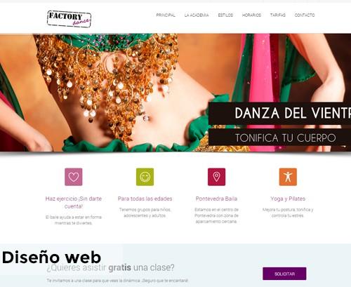Diseño web Factory Dance