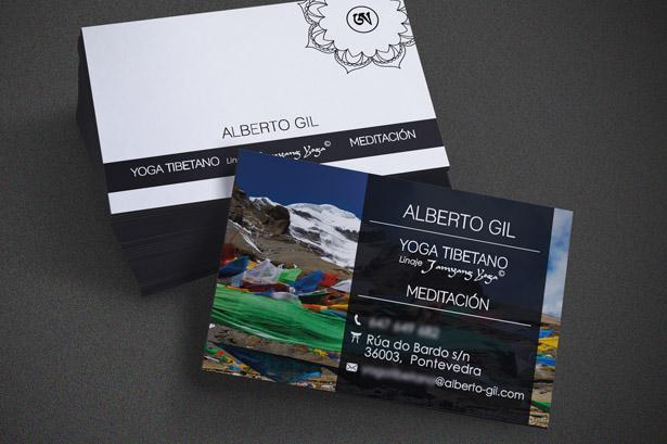 Diseño de tarjetas de empresa en Pontevedra