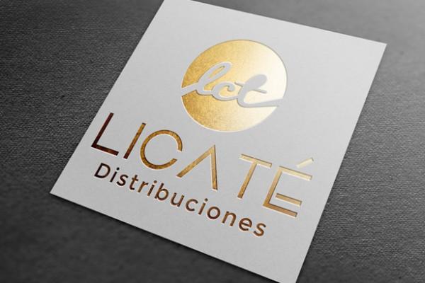 Diseño de marca corporativa Licaté
