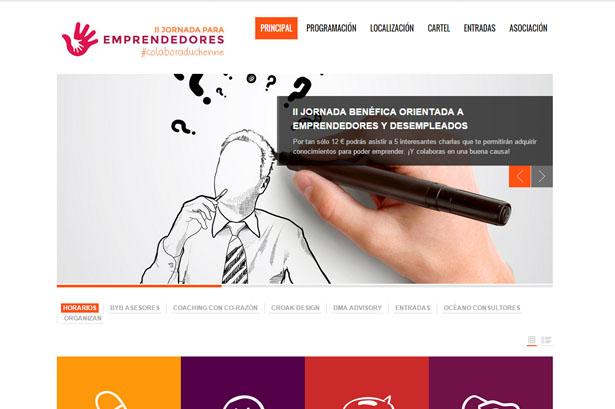 Diseño I Jornada Benéfica Emprendedores y desempleados