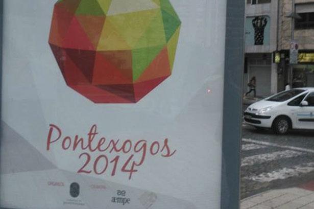Diseño cartelería Pontexogos 2014