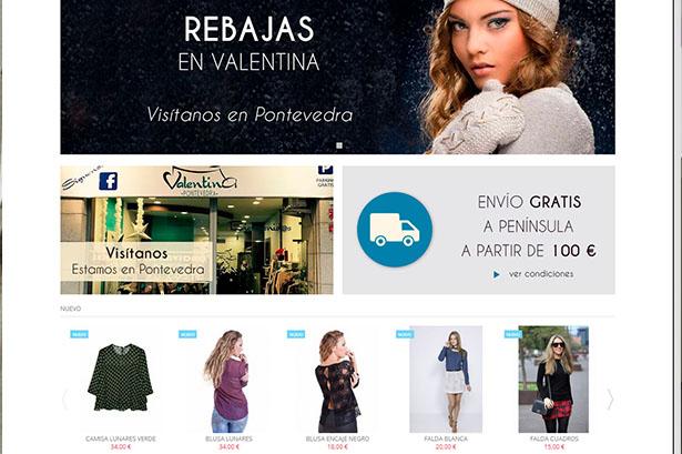 Tienda Online Valentina Pontevedra