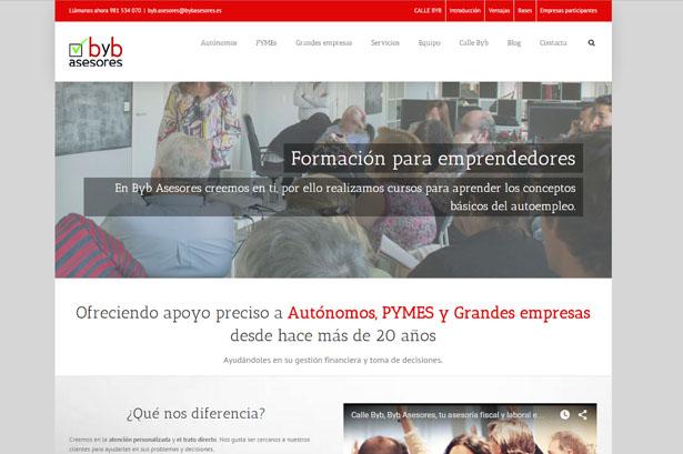 Diseño web para Asesoría