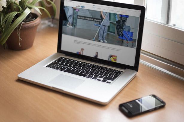 Diseño web para empresa de servicios en Pontevedra