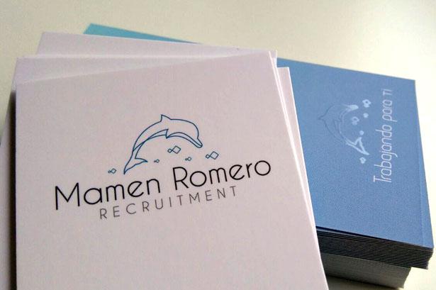 Diseño logotipo Mamen Romero