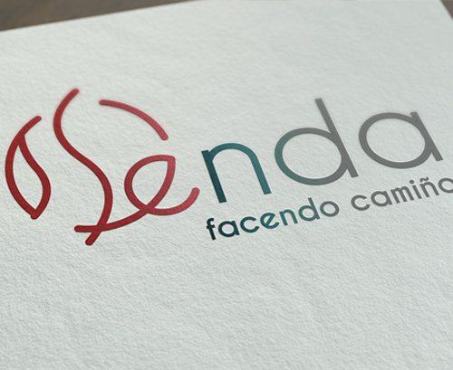 """Deseño logotipo """"Proxecto Senda"""""""