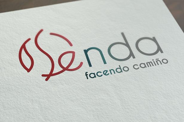 Diseño logotipo «Proxecto Senda»