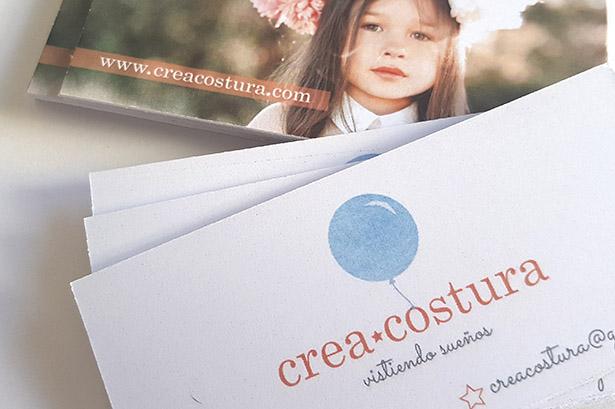 Diseño identidad corporativa para CREACOSTURA