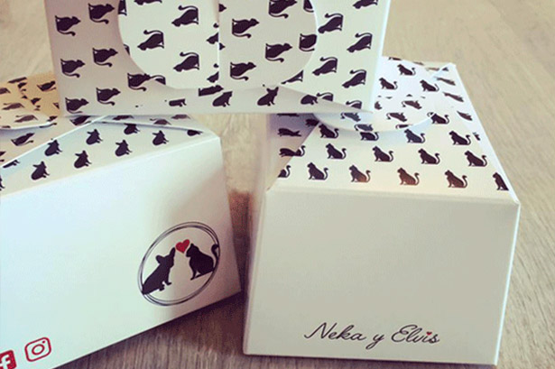 "Diseño packaging ""Neka y Elvis"""