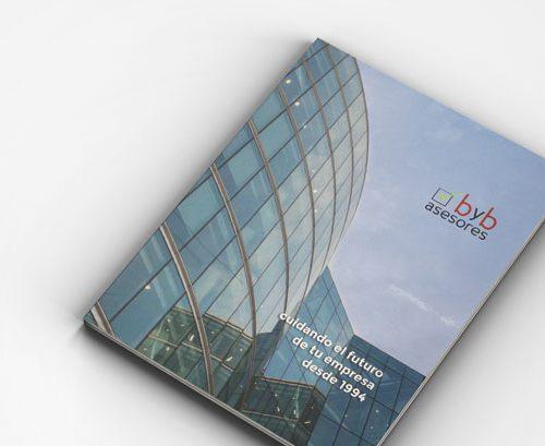 Deseño de catálogo para byb asesores