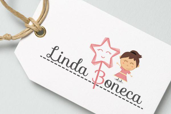 Diseño de logotipo para Linda Boneca