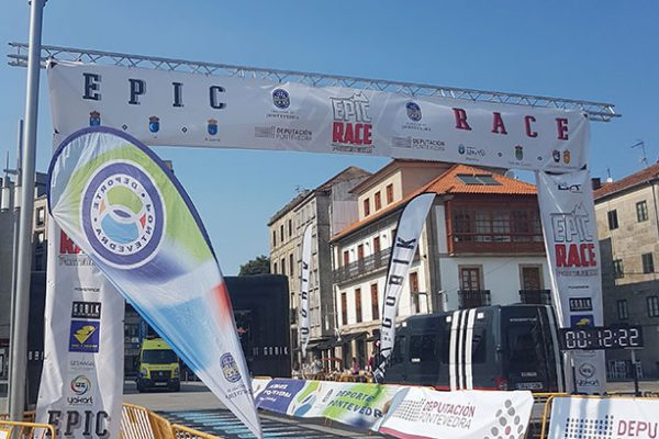 Diseño de soportes para la carrera EPIC RACE Pontevedra